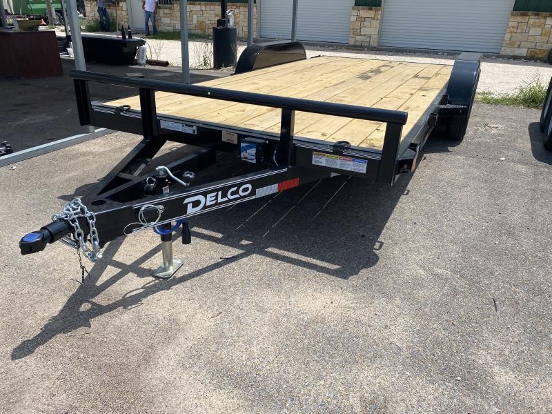 2021 Delco Trailers 83x18 Car / Racing Trailer