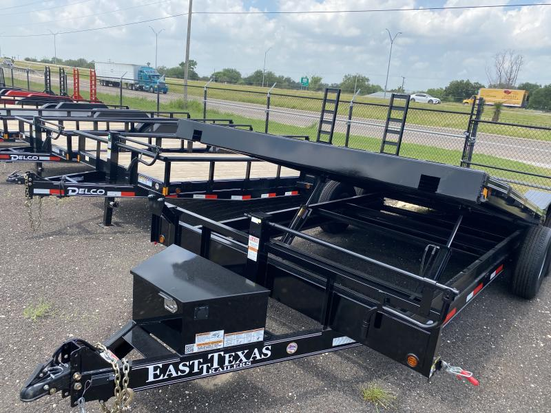 2021 East Texas 102x20 Tilt Car hauler Trailer