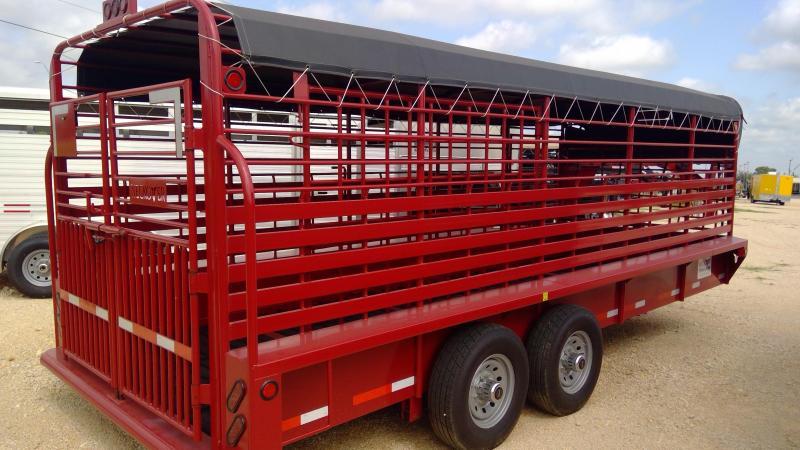 2020 Neckover Trailers 20ft Livestock Trailer