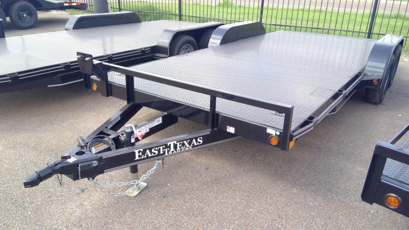 2020 East Texas 18ft Car Hauler 7k Car / Racing Trailer