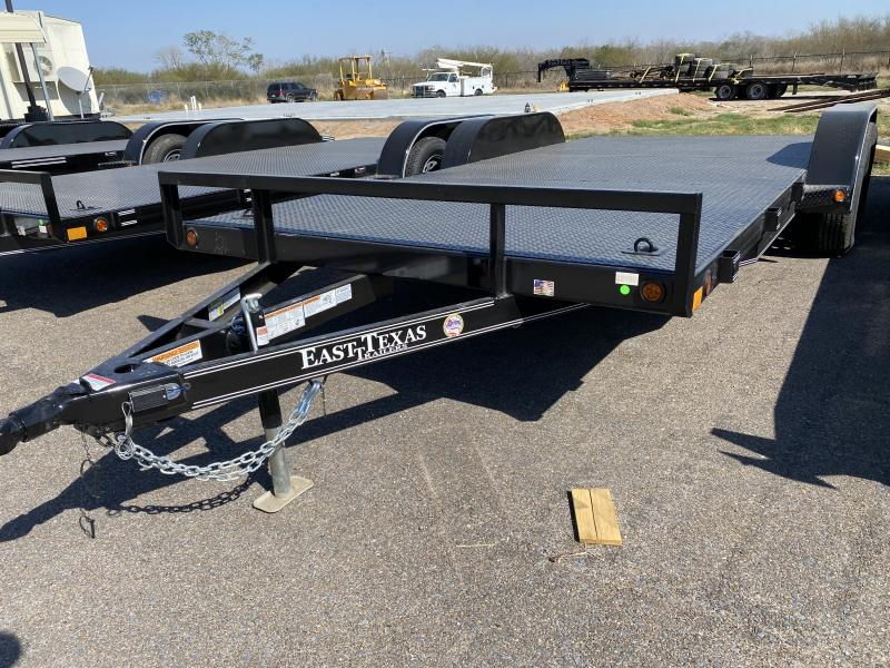 2021 East Texas 83x18 7k Car HaulerTrailer