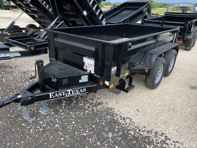 2021 East Texas 5x10 Dump Trailer