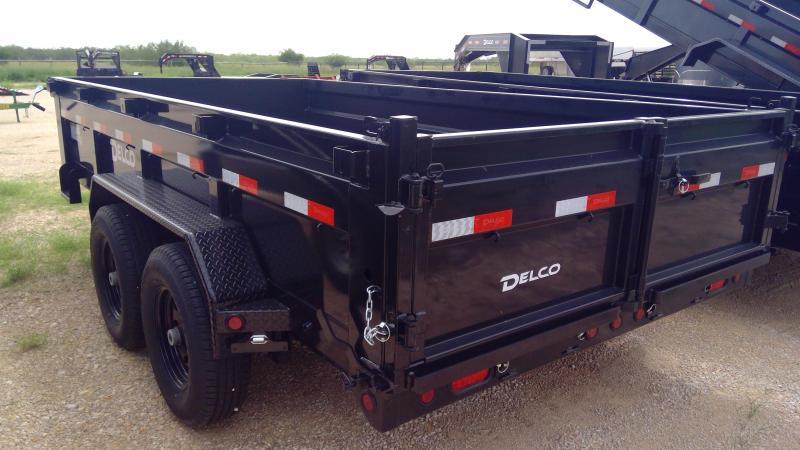 2021 Delco Trailers 83x16ft Bumper Pull Dump Trailer