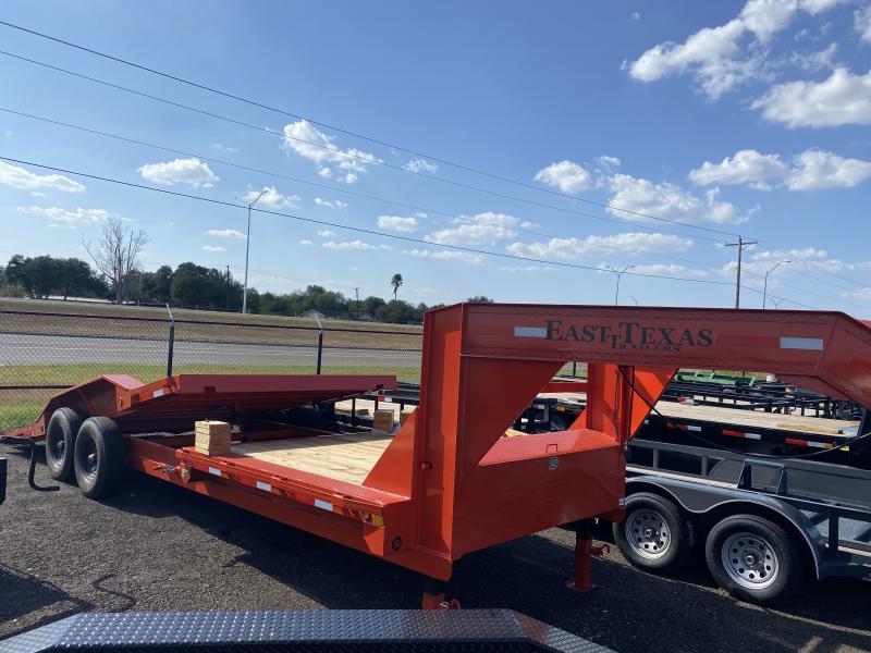 2021 East Texas 102x24 Tilt Equipment Trailer 16k