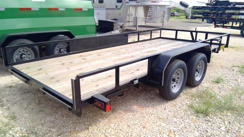 2020 Kearney 16ft Utility Trailer