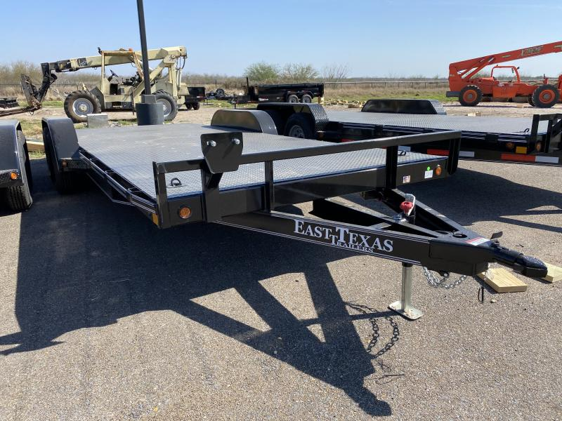 2021 East Texas 83x20 7k Car Hauler Trailer