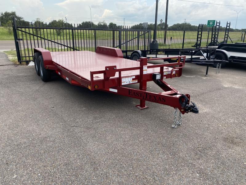 2021 East Texas 83x20ft Heavy Duty Car Hauler