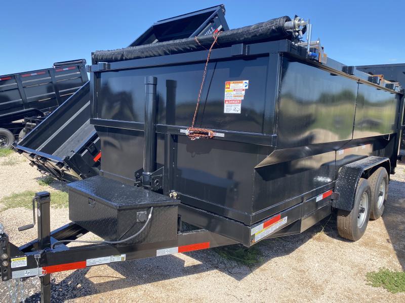 2021 U.S. Built 7x14 Dump Trailer 14k