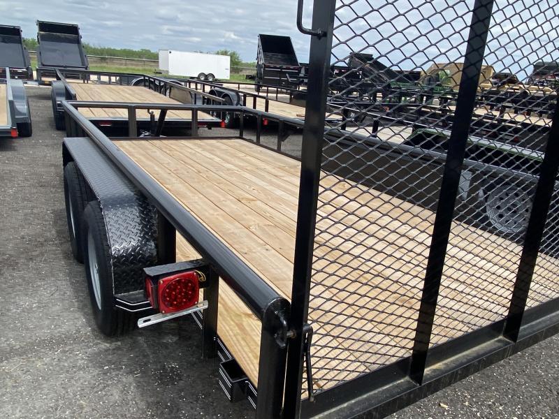 2021 Kearney 6.5x16 pipe top ATV Trailer