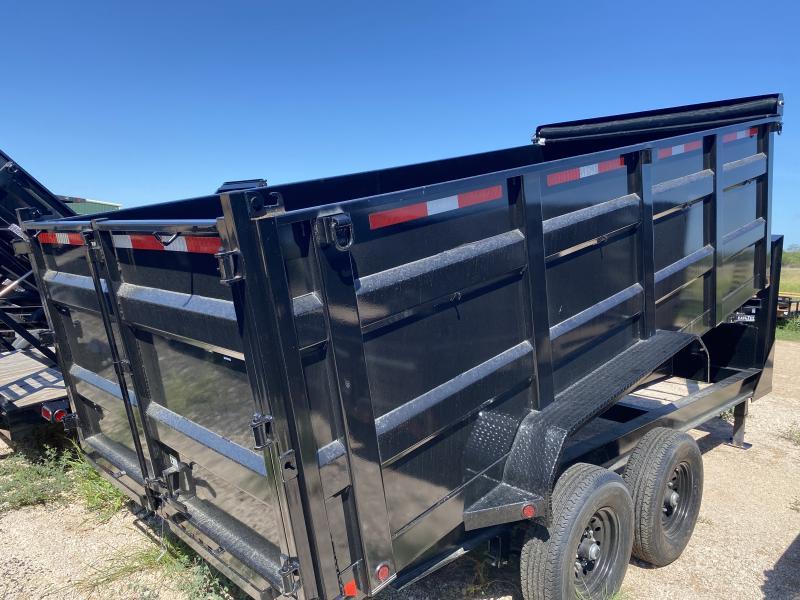 2021 East Texas 83x16 Gooseneck Dump Trailer