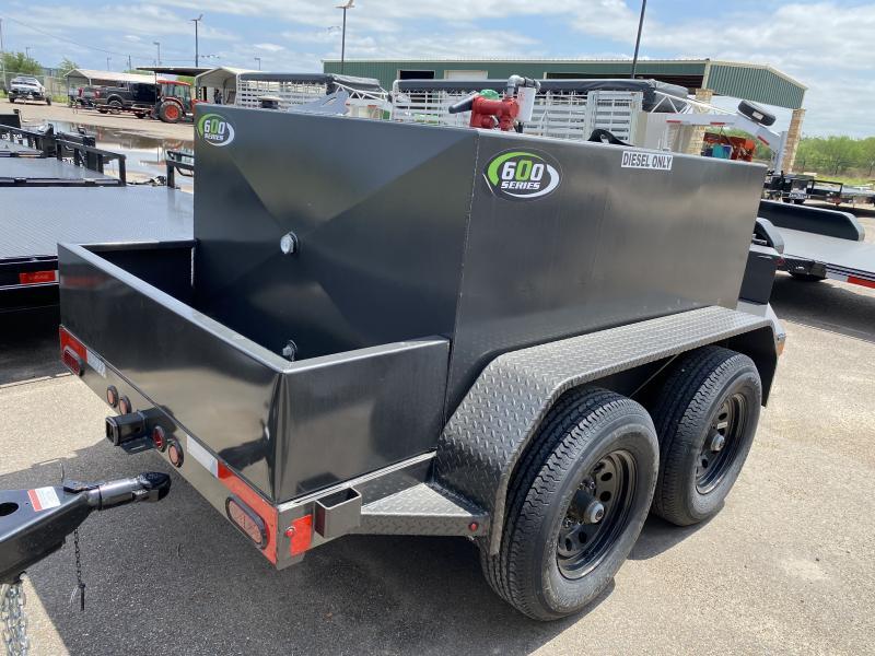 2021 East Texas 600 gallon diesel Tank Trailer