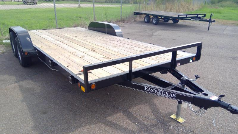 2020 East Texas 83x18 Car / Racing Trailer