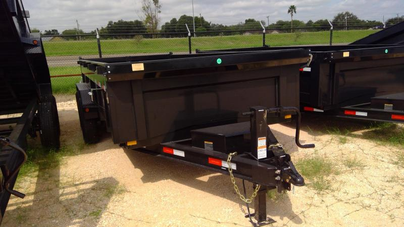 2021 Delco Trailers 14ft Dump Trailer
