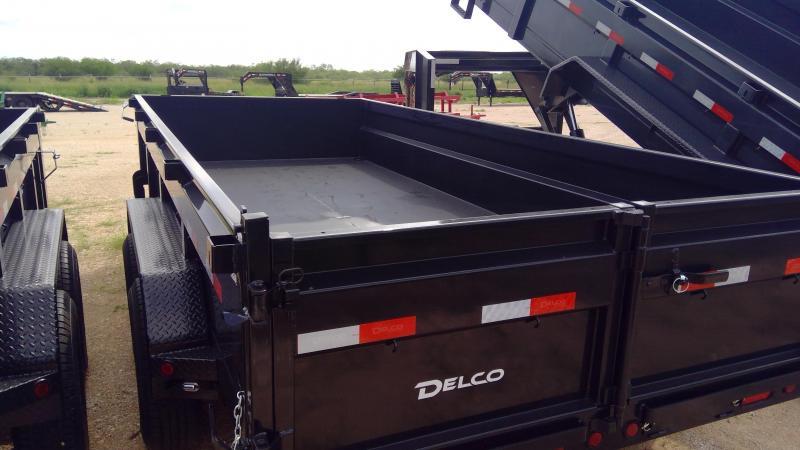 2021 Delco Trailers 14ft Dump Trailer