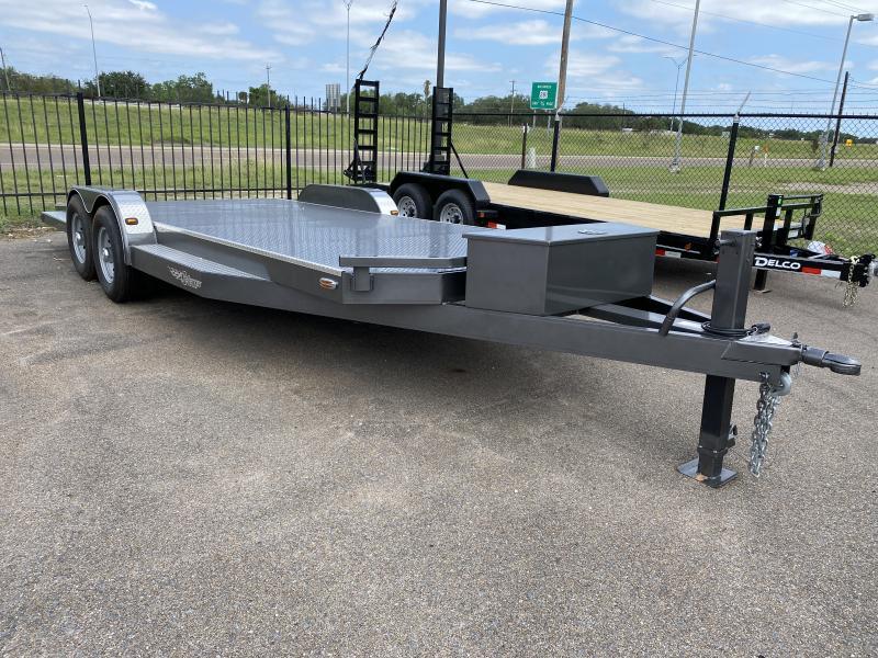 2021 102 Ironworks 83x20 14k Car Hauler Trailer