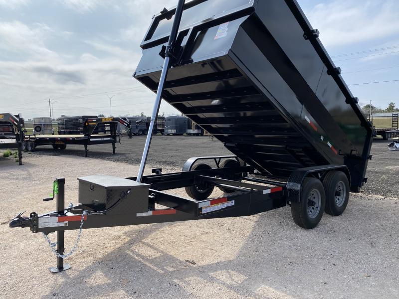 2021 U.S. Built 7x14ft 4ft walls Dump Trailer