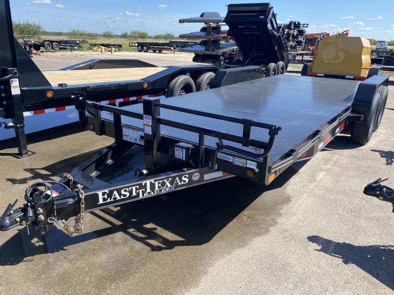 2021 East Texas 83x20 Heavy Duty Car Hauler