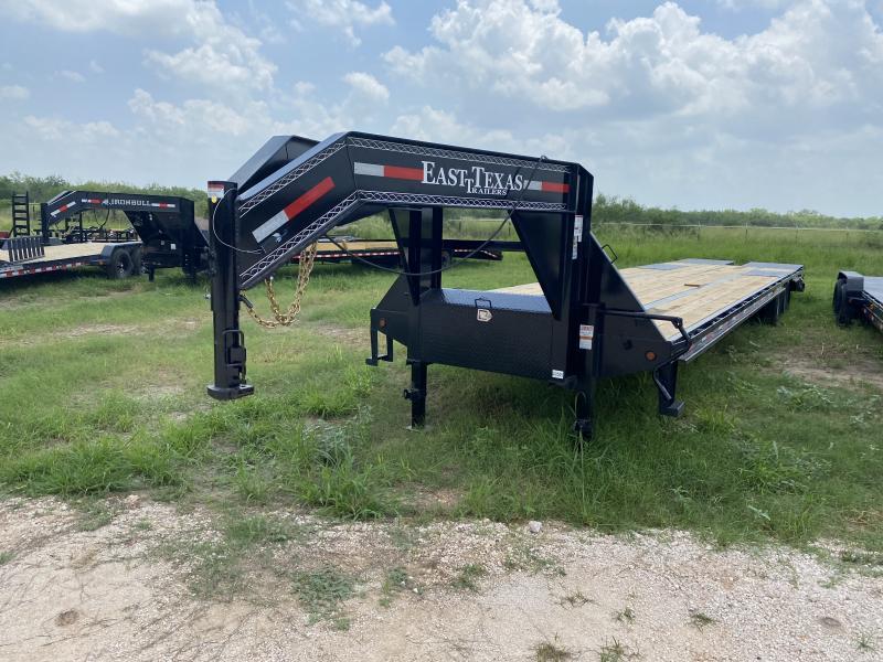 2021 East Texas 102x40 Flatbed Trailer 24k