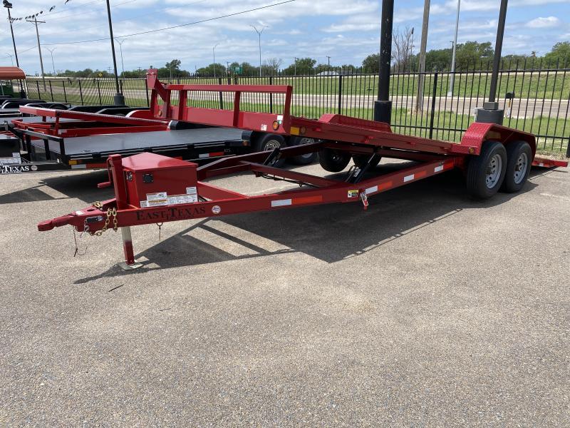 2021 East Texas 83x20 Hyd Tilt Car Hauler Trailer