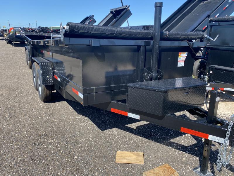 2021 U.S. Built 7x14 Dump Trailer