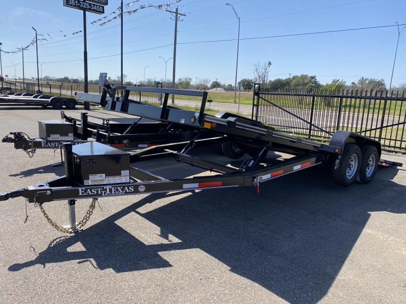 2021 East Texas New 20ft Hyd Tilt trailer Car / Racing Trailer