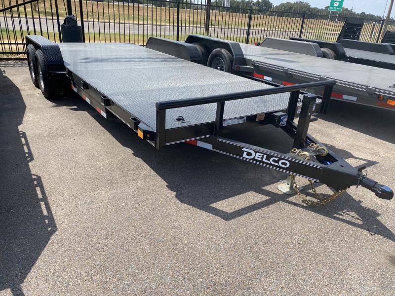 2021 Delco Trailers 83x20ft Car Hauler Trailer 10k