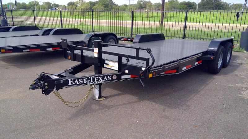 2020 East Texas 20ft Car Hauler 14k Car / Racing Trailer