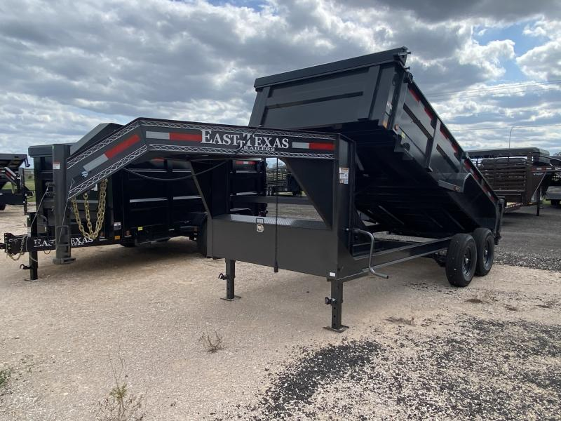 2021 East Texas 83x14 Gooseneck Dump Trailer 14k
