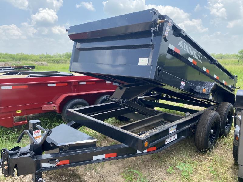 2022 Iron Bull 72x12 Dump Trailer 14k capacity