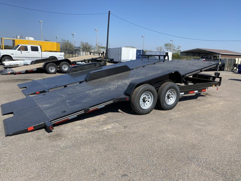 2021 East Texas 20ft Hyd Tilt 14k Car / Racing Trailer