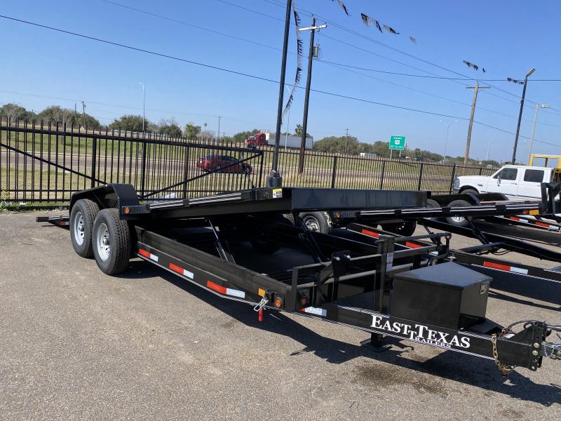 2021 East Texas 20ft Hyd Tilt 14k Car / Racing Trailer
