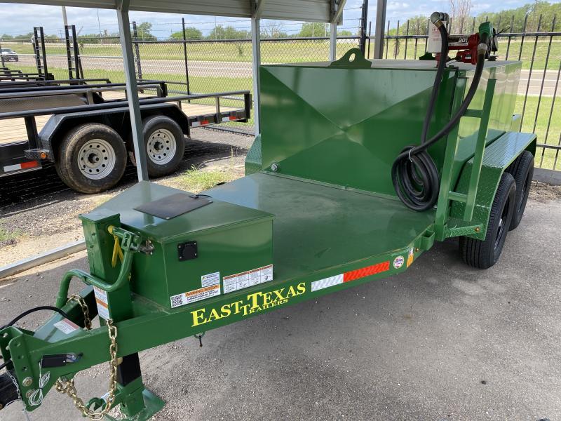 2021 East Texas 600 gallon diesel tank Fuel Trailer