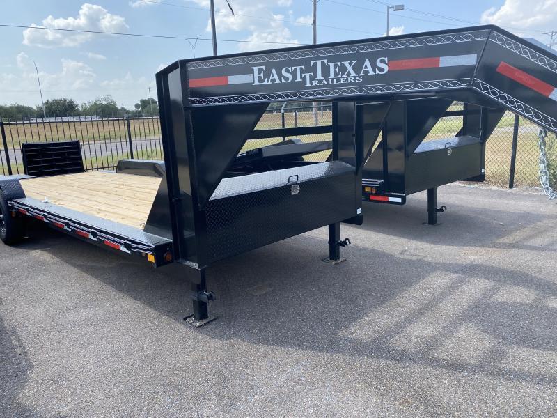 2021 East Texas 102x24 Gooseneck Equipment Trailer