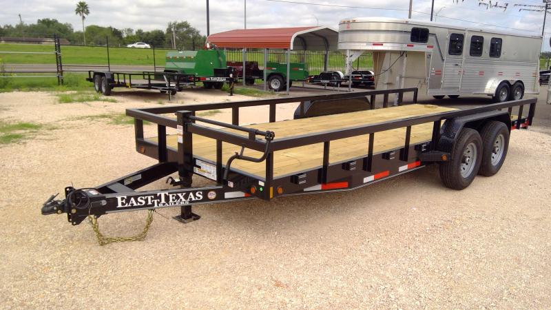 2020 East Texas 83x20 14k Utility Trailer