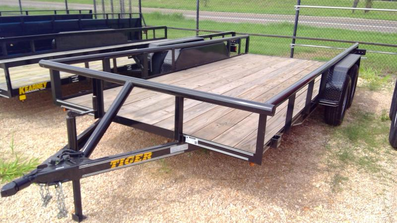2020 Tiger 83x16 pipe top Utility Trailer