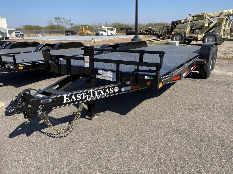 2021 East Texas 83x20 14k Car hauler Trailer