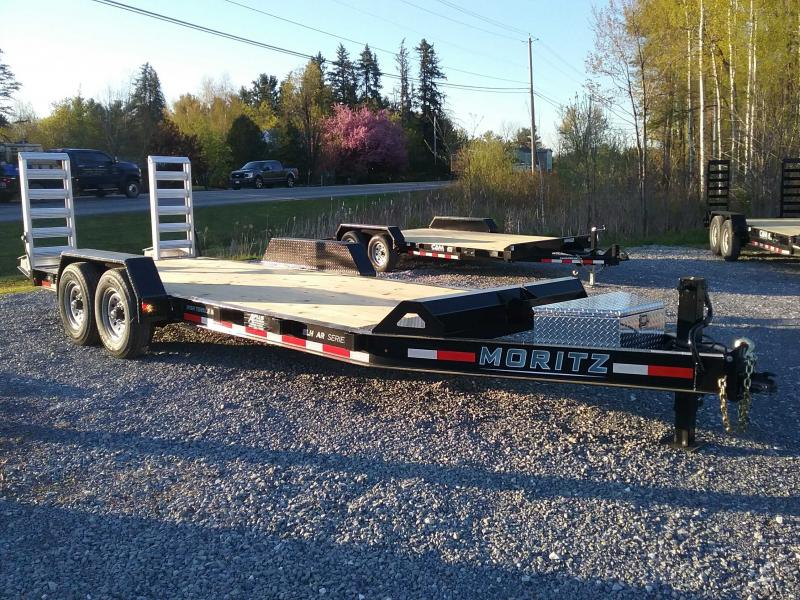 2021 Moritz International 7X20 EQUIPMENT TRAILER Equipment Trailer