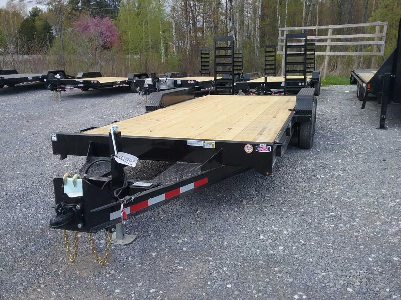2021 Cam Superline 7X18 EQUIPMENT TRAILER 10K Equipment Trailer