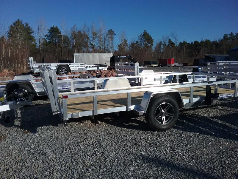 2021 Sure-Trac 7 X 14 Aluminum Tube Top Utility  3K Idl
