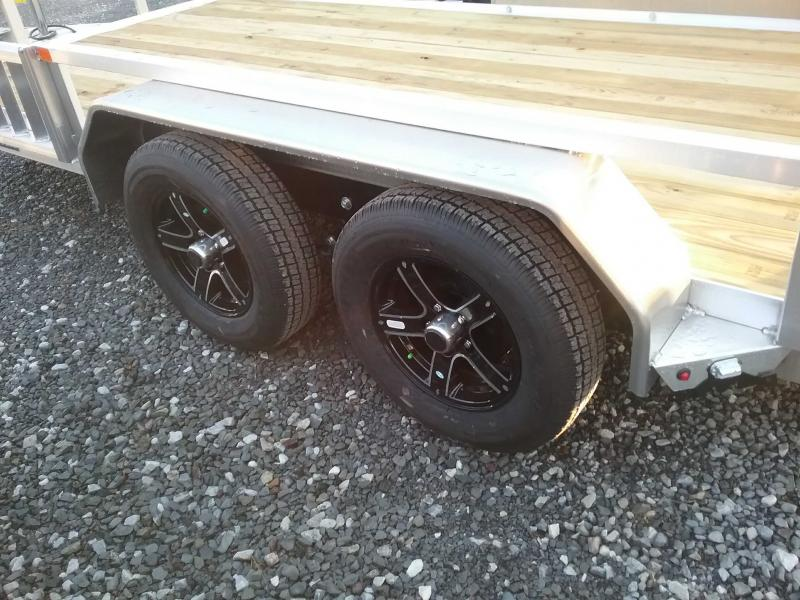 2021 Sure-Trac 82''X16 ALUMINUM TUBE TOP ATV Utility Trailer