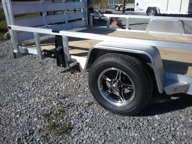 2020 Sure-Trac 7 X 14 Aluminum Tube Top ATV  3K Idler