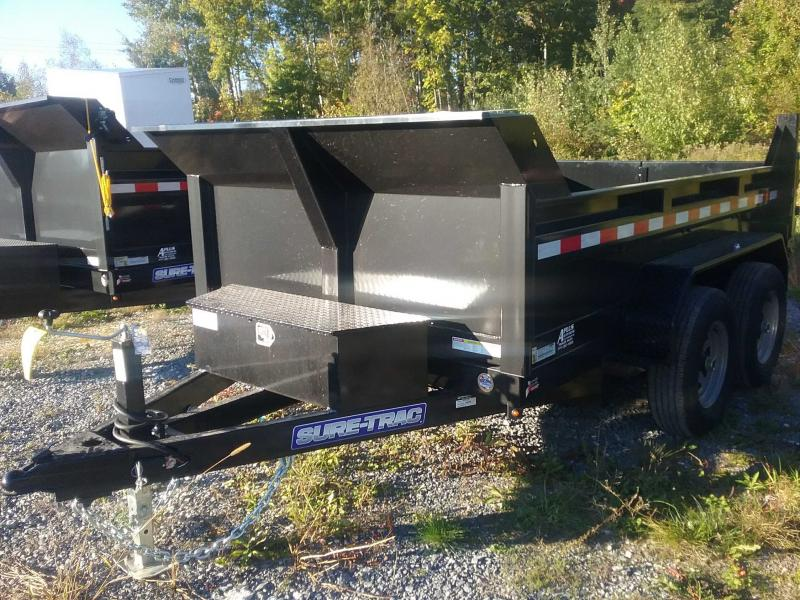 2022 Sure-Trac 6 x 10 SD Low Profile Dump Trailer  10K