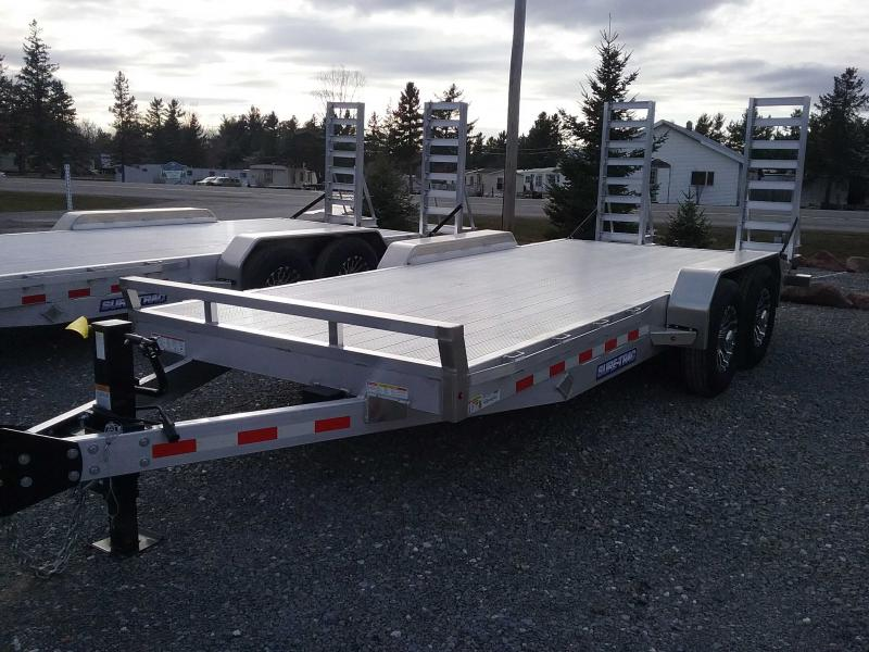 2021 Sure-Trac ALUMINUMEQUIPMENT ST8218ET-A-140 Equipment Trailer