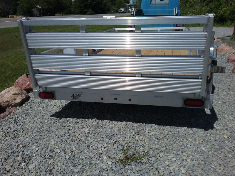 2020 Sure-Trac 6 X 12 Aluminum Tube Top Utility  3K Idl