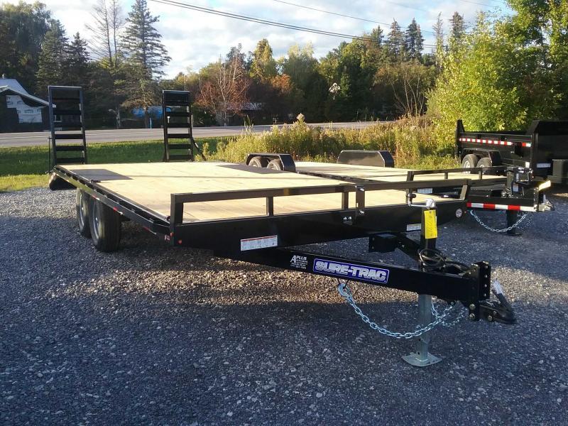 2021 Sure-Trac 8.5 x 17+3 Low Profile Beavertail Deckover