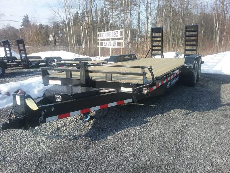 2020 Sure-Trac 7 x 20 Equipment Implement Trailer  16k