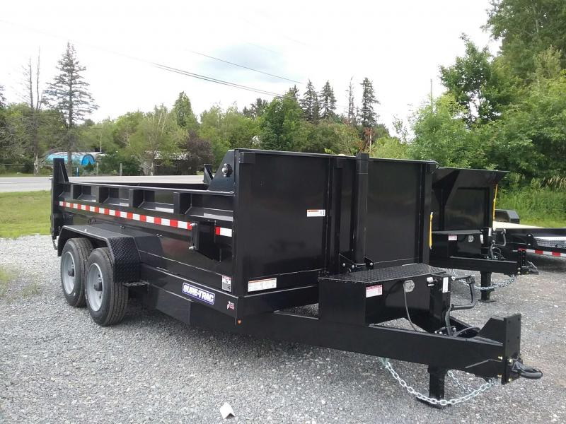 2021 Sure-Trac 82 IN x 14 HD Low Profile Dump Trailer