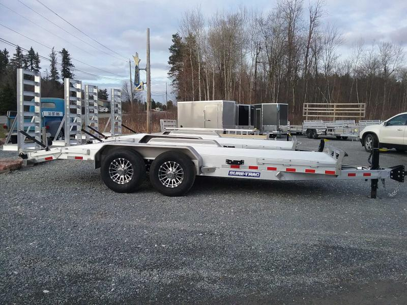 2021 Sure-Trac ST8218ET-A-140 Equipment Trailer