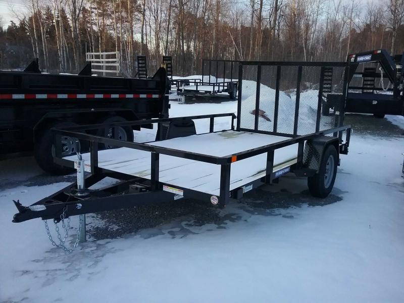 2021 Sure-Trac 7 x 12 Tube Top Utility Trailer  3.5K Br
