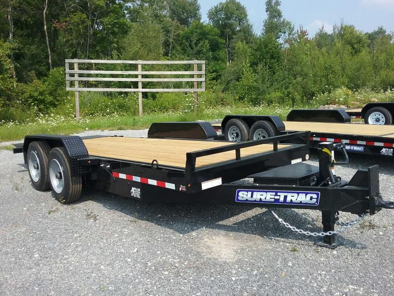 2021 Sure-Trac 7 x 18 Tilt Bed Equipment Trailer  16K